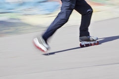 Rollerblades skater Royalty Free Stock Photos