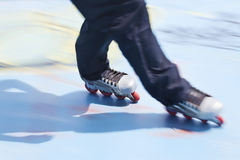 Rollerblades skater Royalty Free Stock Image