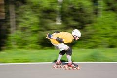 rollerblading стоковые фотографии rf