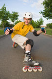 Rollerblading royalty free stock photography