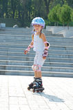 Rollerblading Fotos de Stock Royalty Free