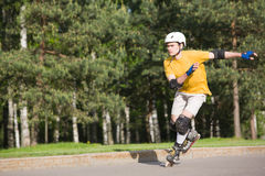 Rollerblading Stock Photography