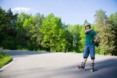 rollerblading стоковые фото