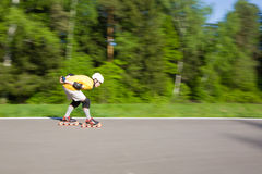 Rollerblading Stock Image