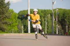 Rollerblading стоковая фотография