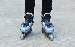 Rollerblading Stock Images