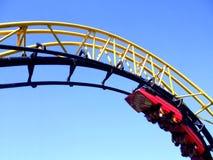 rollercoaster ανοιχτήρι Στοκ εικόνα με δικαίωμα ελεύθερης χρήσης