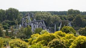 Rollercoaster γύρος Στοκ Φωτογραφίες