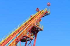 rollercoaster κεκλιμένων ραμπών έναρξη Στοκ εικόνες με δικαίωμα ελεύθερης χρήσης