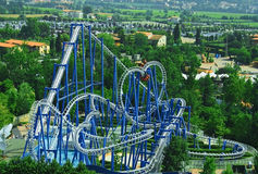 rollercoaster Arkivbild