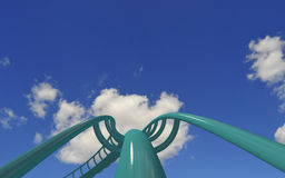 Free Rollercoaster Royalty Free Stock Image - 15903906