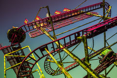 Rollercoaster Royaltyfri Foto