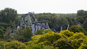 Rollercoaster γύρος Στοκ φωτογραφία με δικαίωμα ελεύθερης χρήσης