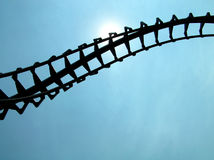 Rollercoaster Royalty Free Stock Photos