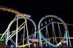 Rollercoaster Arkivfoton