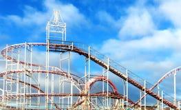Rollercoaster Arkivbilder