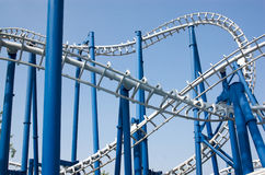 Rollercoaster stock photography