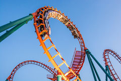Rollercoaster Royalty Free Stock Photo