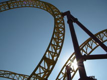 RollerCoaster Royalty Free Stock Photography