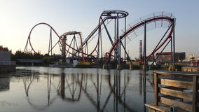 Rollercoaster Στοκ φωτογραφία με δικαίωμα ελεύθερης χρήσης