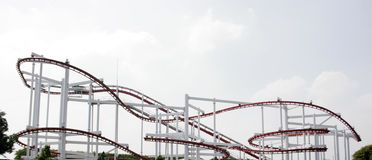 A rollercoaster Stock Photo