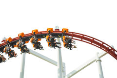 Rollercoaster amusement ride Royalty Free Stock Images