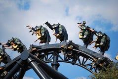 Rollercoaster car Stock Photo