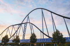 Rollercoaster in Europa Park Royalty Free Stock Images