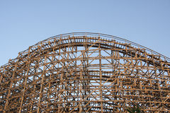 Rollercoaster hood Stock Image