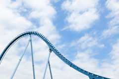 Rollercoaster Loops. Royalty Free Stock Photos