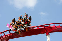 Rollercoaster Ride  Royalty Free Stock Photo