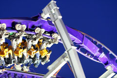 Rollercoaster ride blur Royalty Free Stock Photo