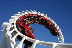 Rollercoaster Ride (Editorial Licence) Stock Photography
