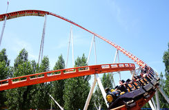 Rollercoaster Ride Royalty Free Stock Photography
