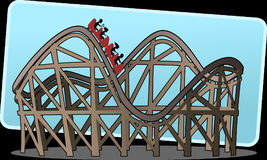 Rollercoaster, Roller Coaster Royalty Free Stock Photos