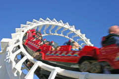 Rollercoaster, Seaworld Gold Coast, Australia Stock Photo