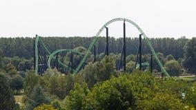 Rollercoasterritt Fotografering för Bildbyråer