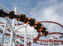 Rollercoasterritt Royaltyfria Foton