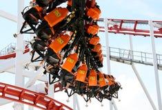 Rollercoasterritt Arkivfoton