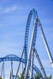 Rollercoasterryttare Arkivfoto