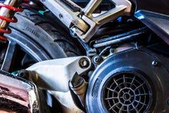 Rollerdetail Lizenzfreie Stockfotos