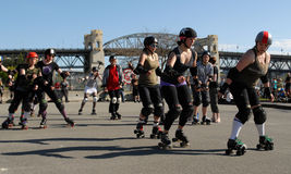 Rollergirls Royalty Free Stock Image