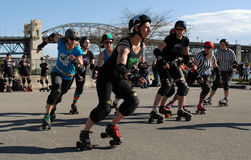 Rollergirls Royalty Free Stock Photos