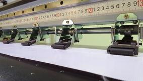 Rollers of large printer Royalty Free Stock Photo