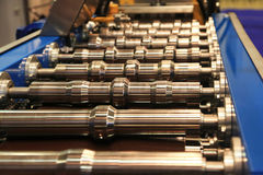 Rollers rolling mill Stock Photo