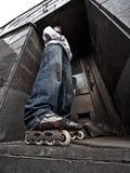 Rollerskater Stock Image