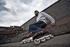 Rollerskater Stock Photo