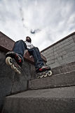 Rollerskater Royalty Free Stock Photography