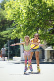 Rollerskaters Royalty Free Stock Photography