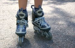 Rollerskates Royalty Free Stock Photo